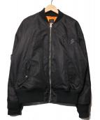 RVCA(ルーカ)の古着「刺繍ブルゾン」|ブラック