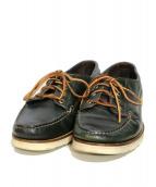 OAK STREET BOOTMAKERS(オーク・ストリート・ブーツメーカー)の古着「レザーシューズ」|グリーン