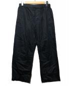 LEMAIREANDSUNSPEL(ルメールアンドサンスペル)の古着「イージーパンツ」|ブラック