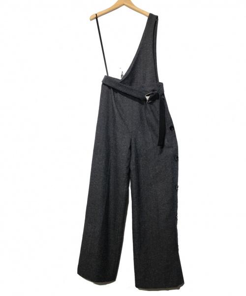 UNITED TOKYO(ユナイテッドトウキョウ)UNITED TOKYO (ユナイテッドトウキョウ) ワンサイド2WAYオールインワン グレー サイズ:2 定価¥19.000+taxの古着・服飾アイテム