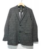 BLACK LABEL CRESTBRIDGE(ブラックレーベルクレストブリッジ)の古着「ストレッチセットアップスーツ」 グレー