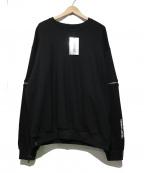 LEGENDA(レジェンダ)の古着「DROPPiNG Sweat Shirts」 ブラック