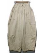 HARVESTY(ハーベスティー)の古着「CIRCUS PANTS」|ベージュ
