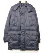 SANYO(サンヨー)の古着「ダウンコート」|ネイビー