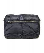 Porter Classic(ポータークラシック)の古着「SUPER NYLON SHOULDER BAG」 ブラック