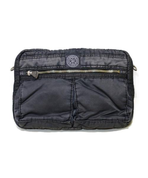 Porter Classic(ポータークラシック)Porter Classic (ポータークラシック) SUPER NYLON SHOULDER BAG ブラック サイズ:採寸参考 定価¥30.000+taxの古着・服飾アイテム