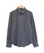 ROBE DE CHAMBRE COMME DES GARC(ローブドシャンブル コムデギャルソン)の古着「ウールシャツ」 グレー