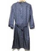 A.P.C.(アーベーセ)の古着「POブラウスシャツワンピース」|ブルー