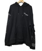 ROGIC(ロジック)の古着「PAISLEY HOODIE」|ブラック