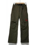 MAMMUT(マムート)の古着「SOFtech TRAVERSE Pants」|カーキ