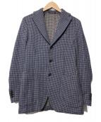 THE GIGI(ザ・ジジ)の古着「千鳥格子ウールジャケット」|ネイビー