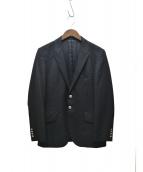 PS Paul Smith(ピーエスポールスミス)の古着「シルバー釦ブレザー」|ブラック