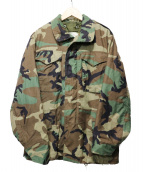 US ARMY(米軍)の古着「Woodland Camo Cold Weather Fie」|オリーブ