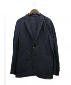 INTERMEZZO(インターメッツォ)の古着「ドライリネンジャケット」|ネイビー