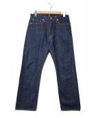 RESOLUTE(リゾルト)の古着「710デニムパンツ」|インディゴ
