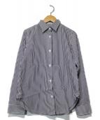 Deuxieme Classe(ドゥーズィエムクラス)の古着「ストライプシャツ」 ネイビー