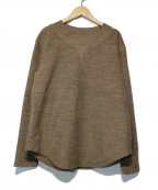 R JUBILEE(アール ジュビリー)の古着「Wool pullover」 ブラウン
