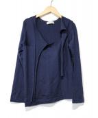 robe de chambre COMME des GARCONS(ローブドシャンブルコムデギャルソン)の古着「デザインニット」|ネイビー