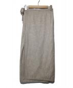 SOU・SOU(ソウソウ)の古着「こしきコットンラップスカート」|ベージュ