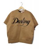 N°21(ヌメロ ヴェントゥーノ)の古着「Darlingポンティングカットソー」 ブラウン
