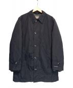 Eddie Bauer(エディバウアー)の古着「ダウンライナー付ステンカラーコート」|ブラック