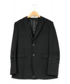 ()の古着「スリーブ切替テーラードジャケット」 ブラック