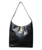 GUCCI(グッチ)の古着「ワンショルダーレザーバッグ」|ブラック