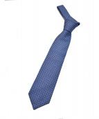 GUCCI(グッチ)の古着「総柄ネクタイ」|ネイビー