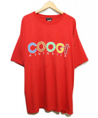 COOGI(クージー)の古着「[古着]ロゴTee」|レッド