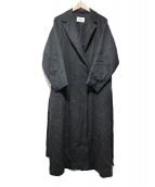RAY BEAMS(レイビームス)の古着「ビッグシルエットラップコート」|ネイビー