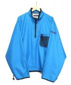 NAUTICA(ノーティカ)の古着「[古着]アノラックプルオーバー」|ブルー
