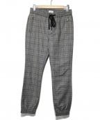 lideal(リディアル)の古着「チェックイージーパンツ」|グレー