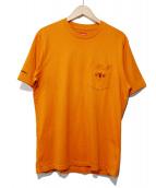 Supreme(シュプリーム)の古着「Playboy Pocket Tee」|オレンジ