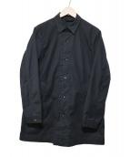 STEVEN ALAN(スティーヴンアラン)の古着「PE STRC SHT COAT」|ブラック