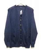 SHIPS(シップス)の古着「リネンカーディガン」|ネイビー