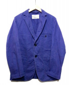 MAISON KITSUNE(メゾンキツネ)の古着「ワークジャケット」|ブルー