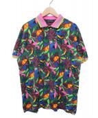 ETRO(エトロ)の古着「ボタニカルプリントポロシャツ」|マルチカラー