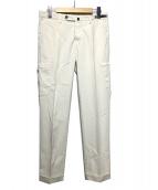 PT01(ピーティーゼロウーノ)の古着「スリムカーゴパンツ」|アイボリー