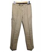 PT01(ピーティーゼロウーノ)の古着「スリムカーゴパンツ」|ベージュ