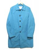 ROSSO(ロッソ)の古着「ストレッチタイプライタースプリングコート」|ブルー