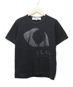 PLAY COMME des GARCONS(プレイコムデギャルソン)の古着「PLAY T-SHIRT」|ブラック