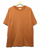 LANVIN en Bleu(ランバンオンブル)の古着「GIZAコットン 半袖カットソー」 ブラウン