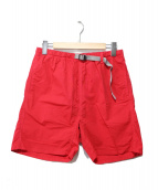 LEE × GRAMICCI(リー × グラミチ)の古着「クライミングショーツ」|レッド