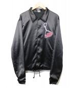 REBERTAS(リベルタス)の古着「コーチジャケット」|ブラック