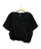 tricot COMME des GARCONS(トリコ コムデギャルソン)の古着「デザインボリュームブラウス」 ブラック
