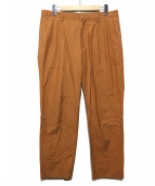 LANVIN en Bleu(ランバンオンブル)の古着「タックパンツ」 ブラウン