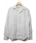 Frank&Eileen(フランクアンドアイリーン)の古着「クラシックホワイトリネン シャツ」|ホワイト