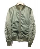 SHIPS(シップス)の古着「MA-1ジャケット」|オリーブ