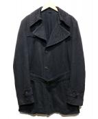 VIKTOR&ROLF(ヴィクターアンドロルフ)の古着「コットントレンチコート」|ブラック