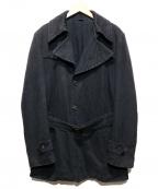 VIKTOR&ROLF(ヴィクターアンドロルフ)の古着「コットントレンチコート」 ブラック